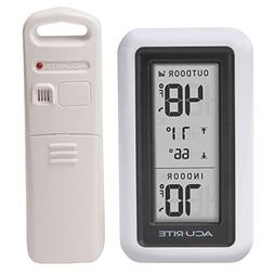 AcuRite 00424CA Digital Thermometer with Indoor/Outdoor Temp