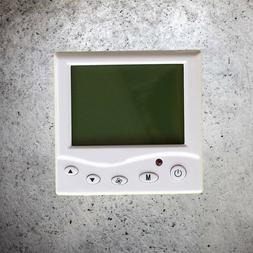 1 Pc 220V Programmable LCD Display Thermostat for Room Home