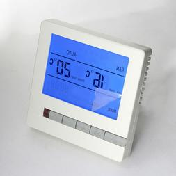 1 Pc LCD Display Precision 220V Thermostat for Room Home wit