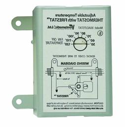 10-Amp Adjustable Programmable Replacement Thermostat Firest