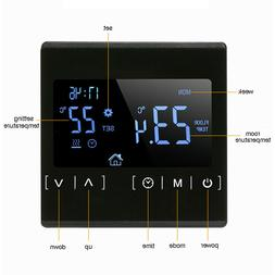 110V 120V 230V Touch Screen Temperature Controller Room Ther