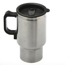 12V Auto Stainless Steel Travel Mug Thermos Thermostat Elect