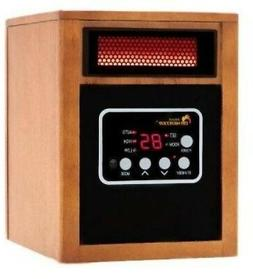 1500-Watt Infrared Portable Space Heater with Dual Heating S
