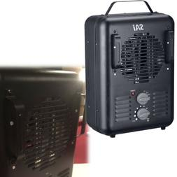 1500w portable heater electric utility thermostat fan