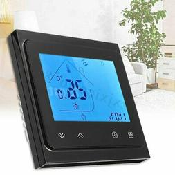 16A LCD Thermostat Programmable Heating Electric Floor Tempe