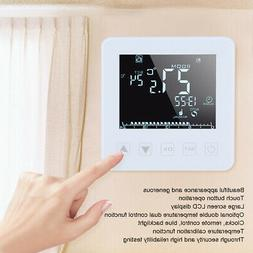16A Programmable LCD Screen Electric Heating Thermostat Temp