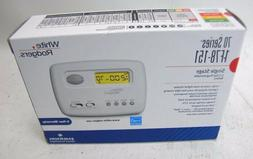 Emerson 1F78-151 5-2 Day Programmable Thermostat for Single-
