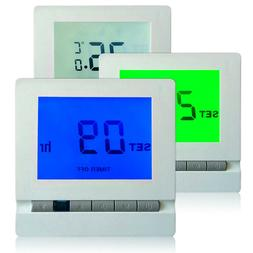 1PC Panel AC230V Remote Control Heating Thermostat for Home