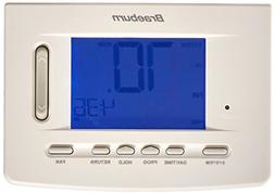 Braeburn 5020 Digital 5/2 Programmable Thermostat with 5 Squ