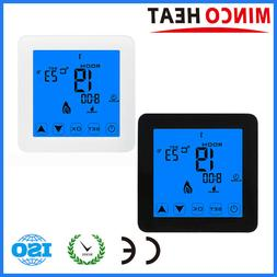 220V 16A Touch Screen Room Temperature Controller Floor Heat