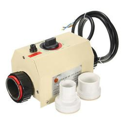 220V 3KW Swimming Pool SPA Hot Tub Electric Water Heater The