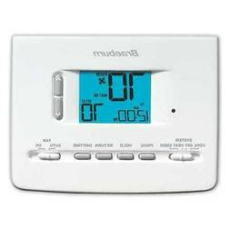 BRAEBURN 2220NC Universal Programmable Thermostat, 2 Stages,