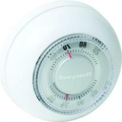 Honeywell 24 Volt Snap Action Heat Only Thermostat, Round, 3