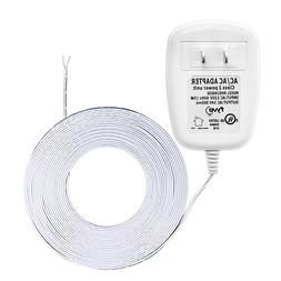 24 Volt Transformer, C-Wire Power Adapter, Smart Wifi Thermo