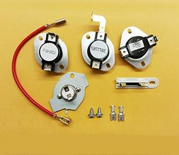 279816, 3392519, 3387134, 3977767 Dryer Thermostat kit and T
