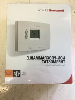 Honeywell 356348 Non-Programmable Thermostat - White