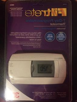 3M FILTRETE 7 DAY PROGRAMMABLE 3M22 THERMOSTAT EASY PROGRAMM