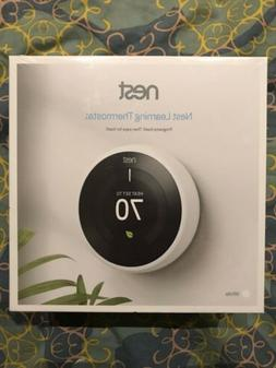 Nest 3rd Generation Learning Thermostat - Stainless Steel T3