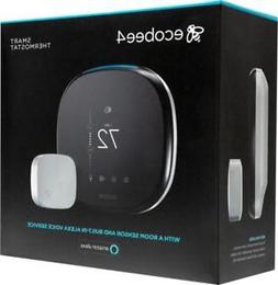 NEW ecobee4 Smart Thermostat with Room Sensor and Built-In A