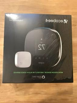 Ecobee4 Smart Thermostat With Room Sensor and Built-in Alexa