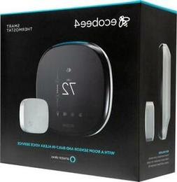 ecobee4 Smart Thermostat with Voice - Alexa Enabled - BRAND