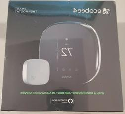 ecobee4 Wi-Fi Thermostat with Room Sensor and Built-In Alexa