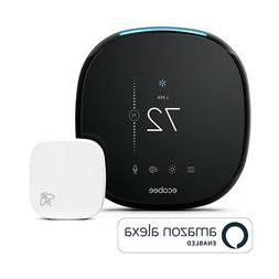 Ecobee4 Wi-Fi Thermostat with Room Sensor and Built-In Amazo