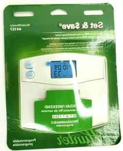 Hunter 44157 - 5/2-Day Digital Programmable Thermostat
