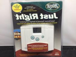 Hunter 47999 Just Right Digital Thermostat White
