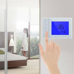 5A Programmable Thermostat LCD Display Heating Temperature C