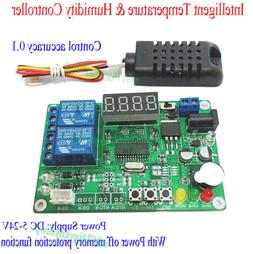 5V 12V 24V Digital Intelligent Temperature Humidity Controll