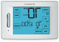 Braeburn 6300 Touchscreen 5/2 Programmable Thermostat with 1