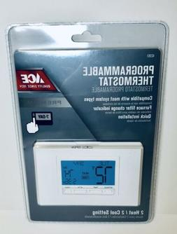ACE 7 DAY PROGRAMMABLE HEATING COOLING THERMOSTAT 42361  361