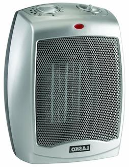 Lasko 754200 Ceramic Heater with Adjustable Thermostat Space