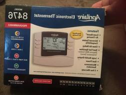 Aprilaire 8476 Electronic Programmable Thermostat *Brand New