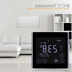 FLOUREON Smart WiFi Thermostat for Home LCD Touch Screen Rem