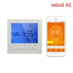 Boiler gas thermostat by wifi APP control wall heating Progr