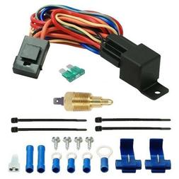 CAR/TRUCK ELECTRIC FAN THERMOSTAT SWITCH COOLANT TEMPERATURE