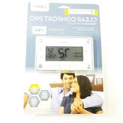Orbit Clear Comfort Programmable Thermostat with Large, Easy