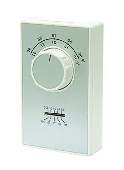 TPI Corporation ETD9STS Line Voltage Wall Mount Thermostat,