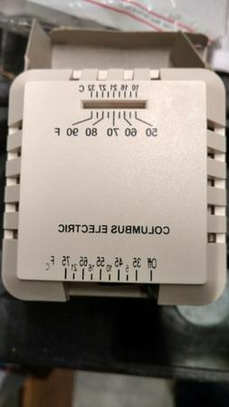 TPI Corporation RK124EAA, 24V Thermostat, Heating Only **Fre