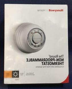 Honeywell CT87K The Round Heat Only Manual Thermostat NEW FA