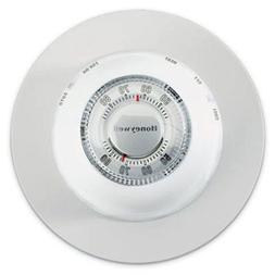 Honeywell CT87N1001 The Round Heat/Cool Manual Thermostat, W