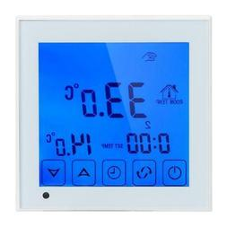 Digital LCD Thermostat Programmable Floor Wall Heating Tempe