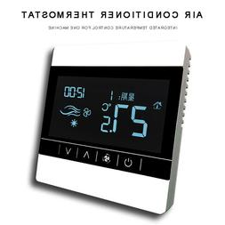 Digital LCD Touch Electric Heating Thermostat Temperature Co