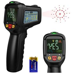 Dr.meter Non-Contact Digital Laser IR Infrared Thermometer T