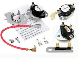 Kenmore Dryer Thermostat Cut Off Thermal Fuse Kit