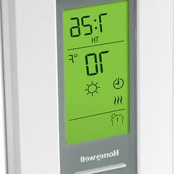 Electric Baseboard Heat Programmable Thermostat Line Volt 24