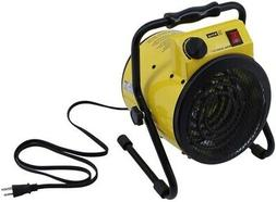 Electric Portable Shop Fan Heater Indoor Forced Air Thermost