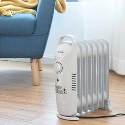 electric space heater small portable oil filled